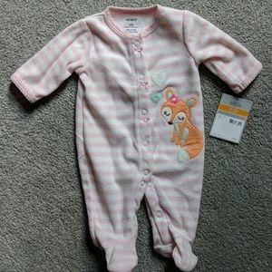 Carter's newborn pajamas